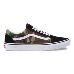 VANS Old Skool Woodland Camo sneakers